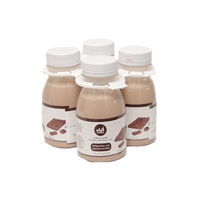 Picture of Alban Chocolate  Milk Cow Full Fat Plastic Bottle (3+1x180ml)
