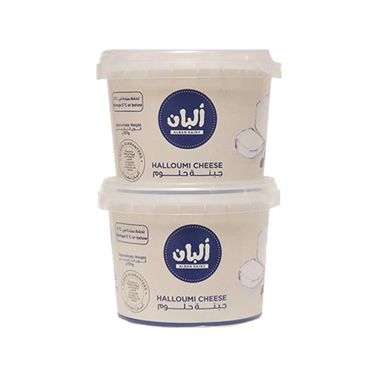 صورة ألبان جبنة حلوم ماعز 250 جم 2 حبة