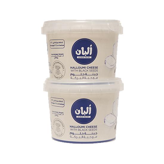 صورة ألبان جبنة حلوم ماعز بحبة البركة 250 جم 2 حبة
