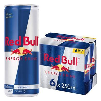 Picture of Red Bull energy drink 6 Pack 250 ML