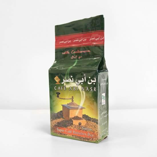 """صورة باكيت قهوة تركية مطحون """" ابي نصر """" مع هيل 1 * 20 * 200 جرام"""