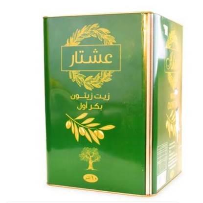 "Picture of Tin (10 liter) of Virgin Olive Oil ""Ishtar"