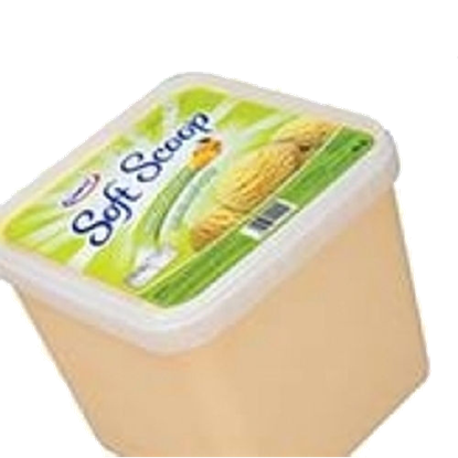 """Picture of 6 × 4 liter of Soft Scoop Mango Ice Cream """"Unikai"""""""