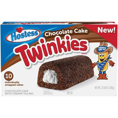 Picture of Hostess Twinkies MP Chocolate Cake Pack of 10 - 13.58 OZ