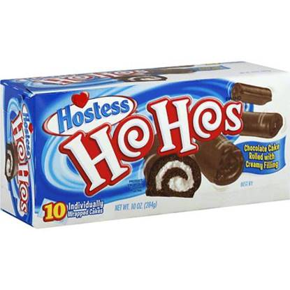 Picture of Hostess Ho Hos MP Chocolate Pack of 10 - 10 OZ