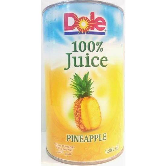 صورة عصير اناناس طبيعي 100 %1.36 لتر علامة دول