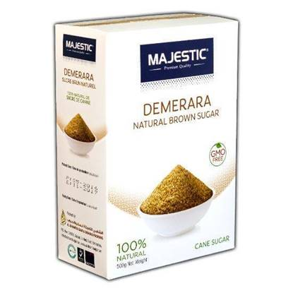Picture of Majestic Demerara Natural Brown Sugar  500g