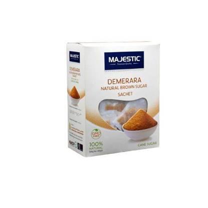 Picture of Majestic Brown Demerara Sugar Sachets 500 gr