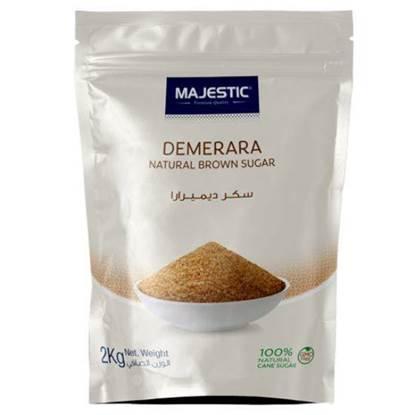 Picture of Majestic Demerara Natural Brown Sugar  2kg