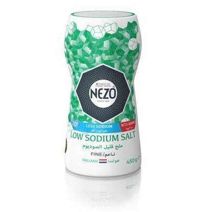 Picture of Nezo Low Sodium Iodized Salt 450 gr