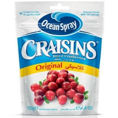 Picture of Ocean Spray -Craisins Original 150 Gr