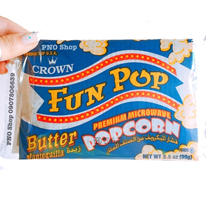 Picture of Crown  Fun pop  Butter   Pop Corn 99g