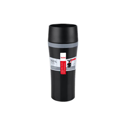 Picture of K3071114-TEFAL TRAVEL MUG FUN 0.36L BLACK TEF
