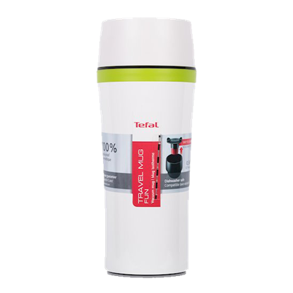 Picture of K3070114-TEFAL TRAVEL MUG FUN 0.36L WHITE TEF