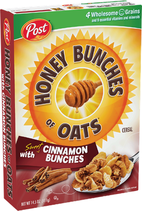 Picture of  Post HBO Cinnamon Brunches 411g