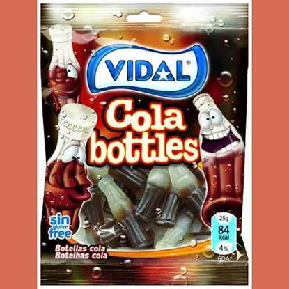 الصورة: حلوي جلي فيدال كولا 20 جم شراب الكولا