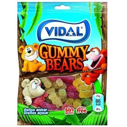 الصورة: جيلي فيدال الدببة الطرية   100 جرام