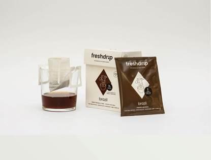 Picture of single filtered coffee brazil(dark roast)
