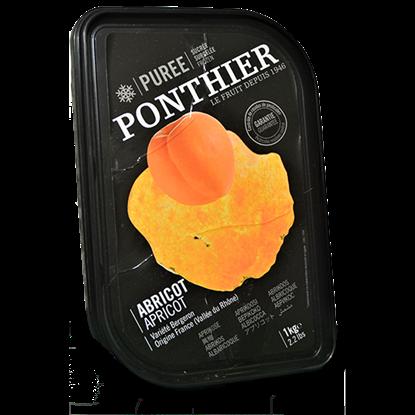 Picture of PONTHIER FROZEN APRICOT PUREE  1 kg