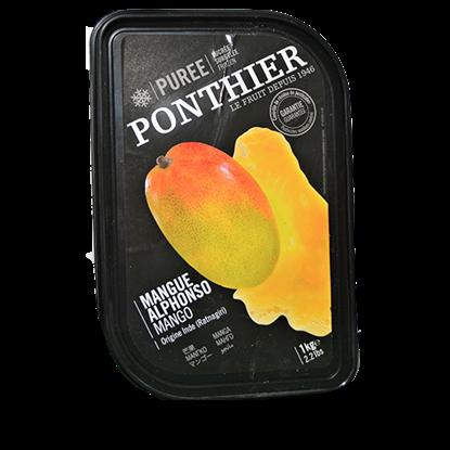 Picture of PONTHIER FROZEN MANGO PUREE  1 kg