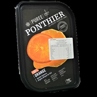 Picture of PONTHIER FROZEN ORANGE PUREE  1 kg