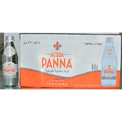 Picture of ACQUA PANNA ITALIAN MINERAL WATER 24X250ML GLASS