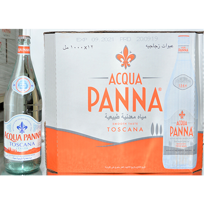 Picture of ACQUA PANNA ITALIAN MINERAL WATER 12X1LT GLASS