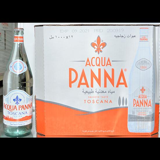 Picture of ACQUA PANNA ITALIAN MINERAL WATER 12X1LT GLASS