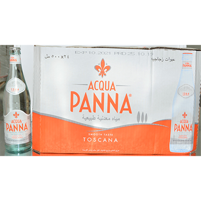 Picture of ACQUA PANNA ITALIAN MINERAL WATER GLASS 24X500ML
