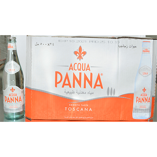 Picture of ACQUA PANNA ITALIAN MINERAL WATER GLASS 24X500ML