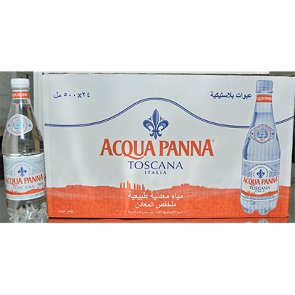 Picture of ACQUA PANNA ITALIAN MINERAL WATER - PLASTICV24X500ML