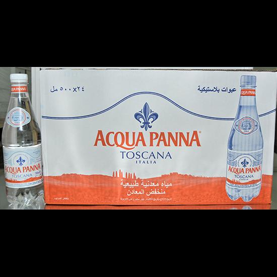 Picture of ACQUA PANNA ITALIAN MINERAL WATER - PLASTICV24X500ML