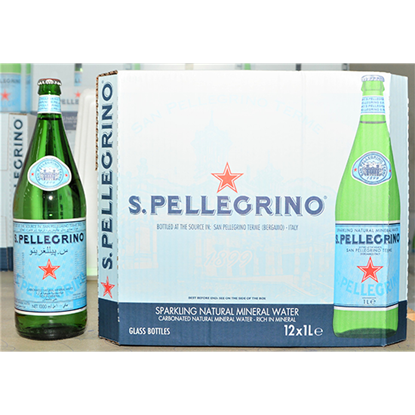 Picture of SAN PELLEGRINO SPARKLING NATURAL MINERAL WATER 6X4X250ML GLASS