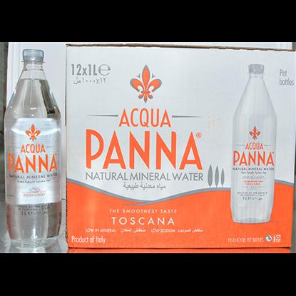 Picture of ACQUA PANNA ITALIAN MINERAL WATER - PLASTIC 12X1LT
