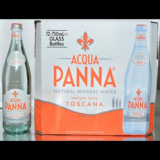 صورة مياه معدنية أكوا بانا إيطالية  12 * 750 مل زجاج