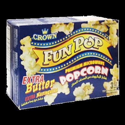 Picture of Crown  Fun pop  Butter   Pop Corn 297g
