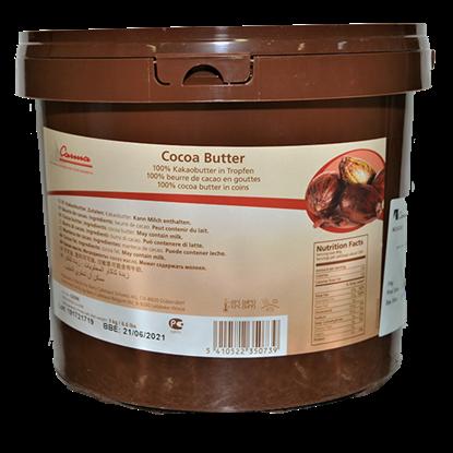 Picture of CARMA COCOA BUTTER GRANULATE100% 3KG