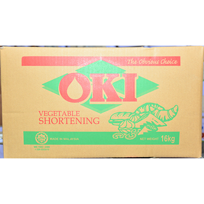 Picture of OKI VEGETABLE SHORTENING 16 KG