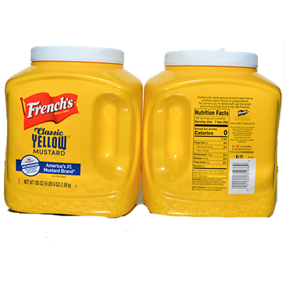 Picture of FRENCH'S YELLOW MUSTARD  1GAL