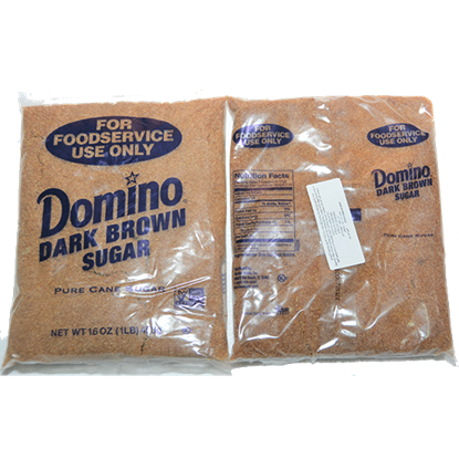 Picture of DOMINO SUGAR BROWN DARK 454 gm