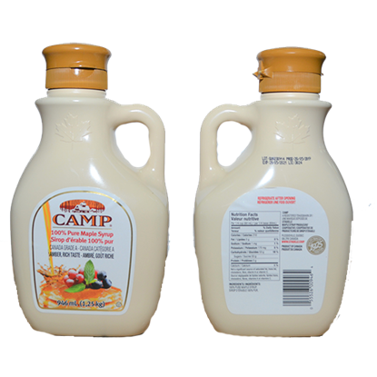 Picture of CAMP CANADIAN MAPLE SYRUP  32 oz