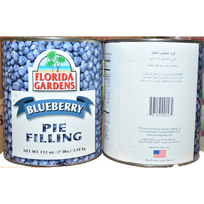 "Picture of FLORIDA GARDEN"" BLUEBERRY FILLING 3.18 kgx 6"