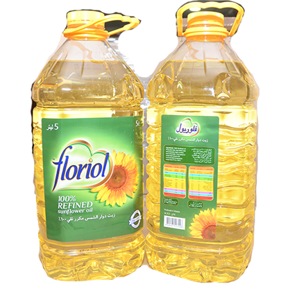 Picture of FLORIOL SUNFLOWER OIL 3 X 5 LTR