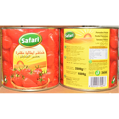 الصورة: معجون طماطم 2.5 كغم × 6 سفاري
