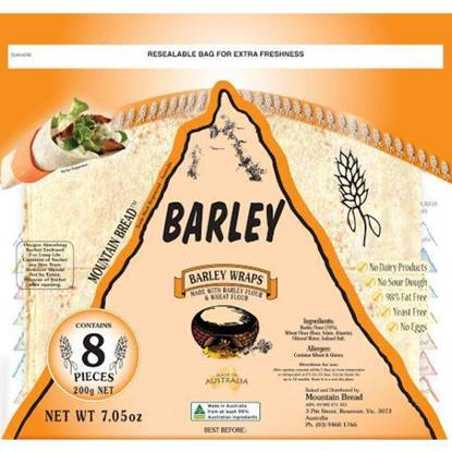 Picture of Mountain Bread Barley Wraps 200g