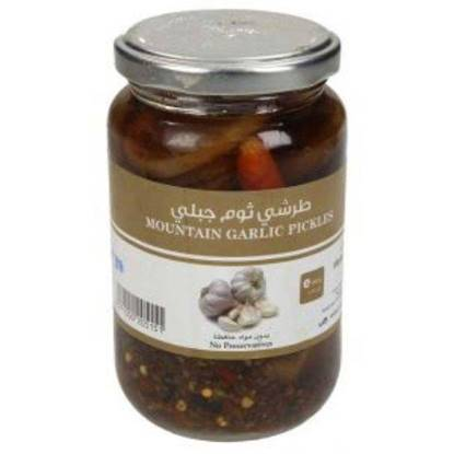 Picture of Farmers Market Mountain Garlic Pickles Glass Jar 350 g