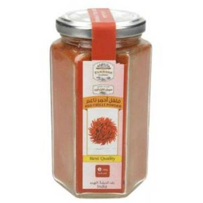 Picture of Farmers Market Soft Red Chili Powder Glass Jar 120 g
