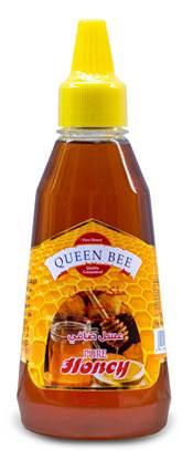 Picture of Queen bee pure honey 375g x 3 bottles