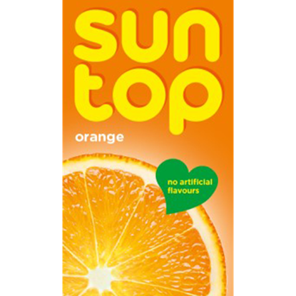Picture of suntop orange drink 125 ml x 24