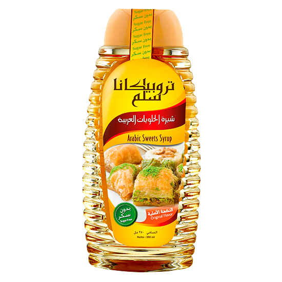 Picture of TROPICANA SLIM Sugar Free Arabic Sweets Syrup 350ml